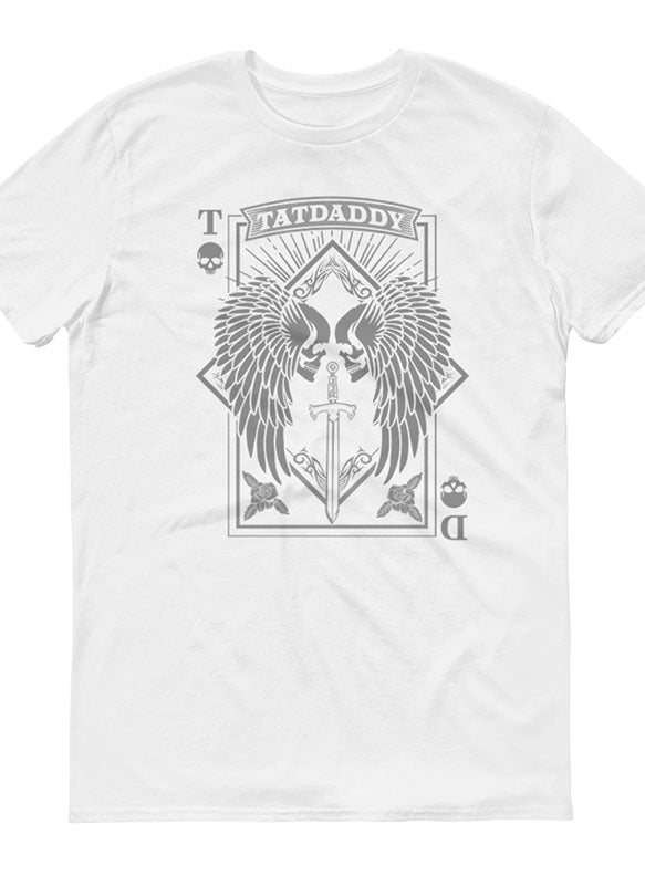 """ACES HIGH"" MENS TEE - TatDaddy Clothing Co. tattoo clothing"