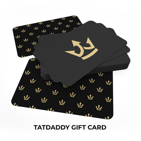 Gift Card - TatDaddy Clothing Co. tattoo clothing