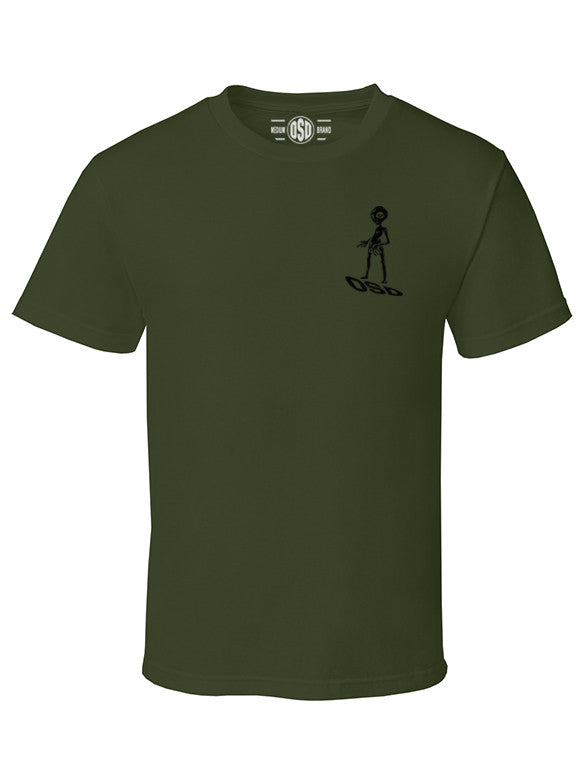 "OSD ""Area 51"" Cotton Tee - TatDaddy Clothing Co. tattoo clothing"