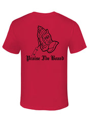 """Praise the Board"" Cotton Tee - TatDaddy Clothing Co. tattoo clothing"