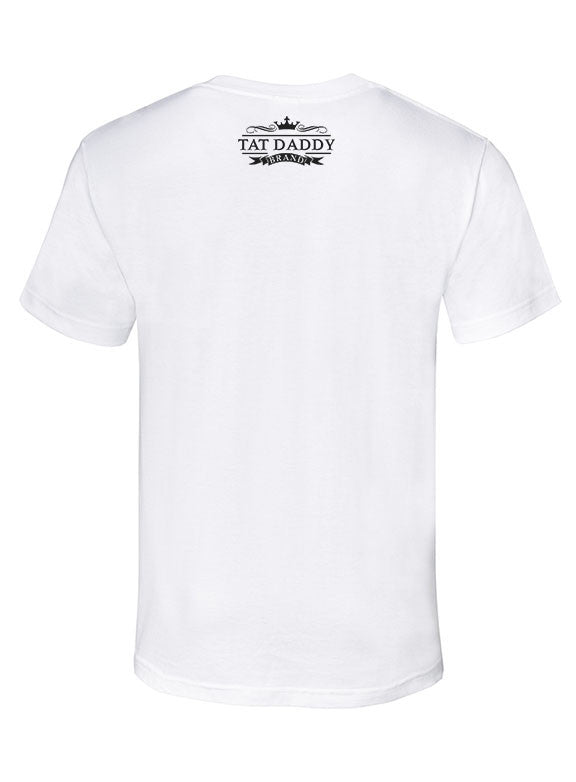 "Mens Soft Ringspun Cotton ""Inked 1"" Tee - TatDaddy Clothing Co. tattoo clothing"