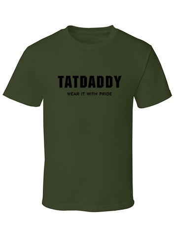 """Wear it with Pride"" Mens Tee - Tat Daddy Brand Apparel"
