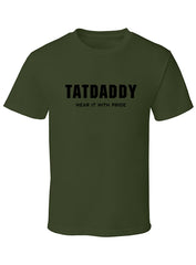 """Wear it with Pride"" Mens Tee - TatDaddy Clothing Co. tattoo clothing"