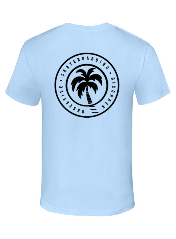 """Beach Daze"" Cotton Tee - TatDaddy Clothing Co. tattoo clothing"