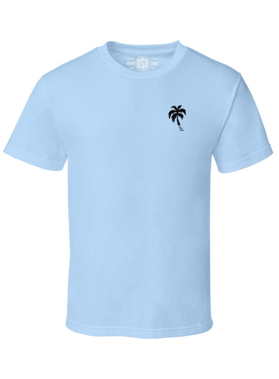 """Beach Daze"" Cotton Tee - TatDaddy Clothing Co."