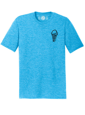 "OSD ""Ice Cream"" Tri-Blend Tee - TatDaddy Clothing Co."