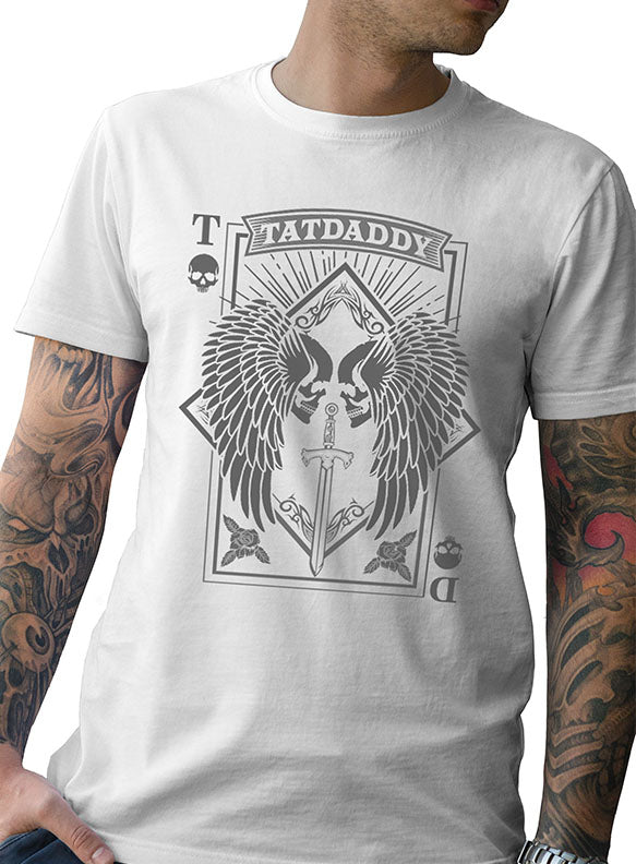 """Aces High"" Mens Tee - TatDaddy Clothing Co."