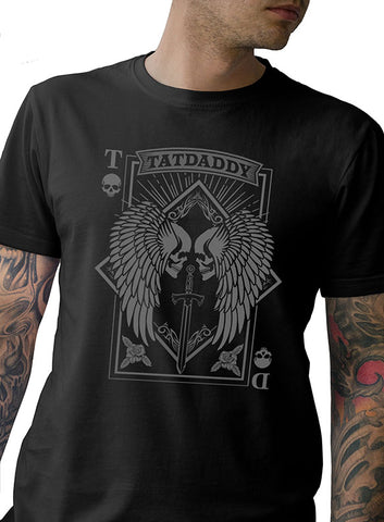 """Aces High"" Mens Tee - Tat Daddy Brand Apparel"