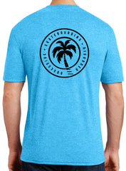 "OSD ""Beach Daze"" Tri-Blend Tee - TatDaddy Clothing Co. tattoo clothing"
