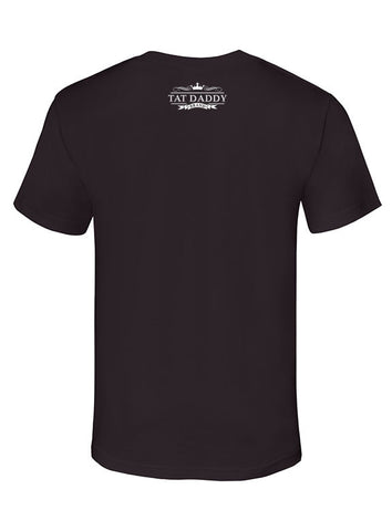 "Men's Soft Ringspun Cotton ""El Catrin"" Tee - Tat Daddy Brand Apparel"