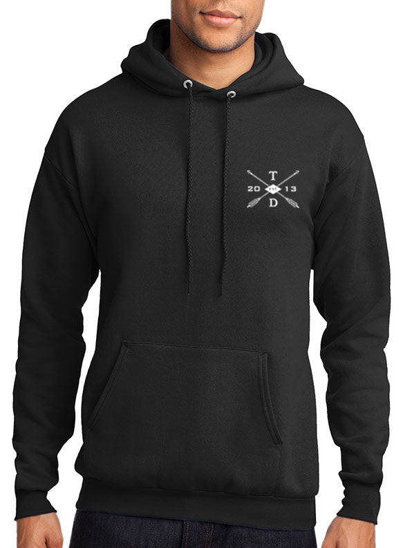 """Face The Music"" Hoodie - TatDaddy Clothing Co. tattoo clothing"