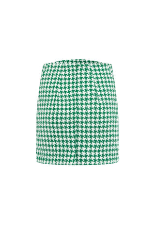 Capella raised front mini skirt