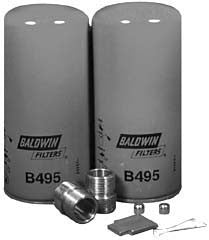 BK495B - BALDWIN   - Online Filter Supply Replacement Part # 97-25-0523