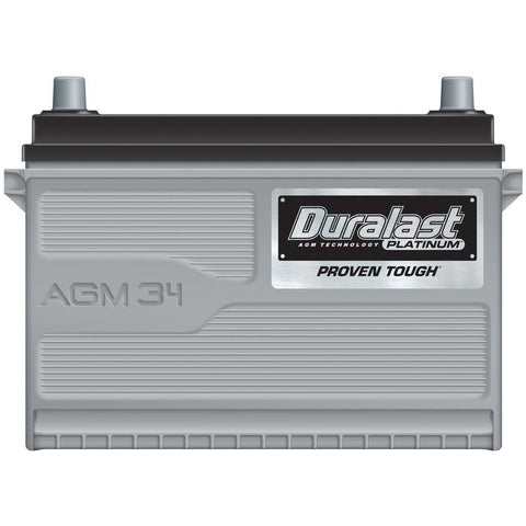 34-AGM | Duralast Platinum Battery