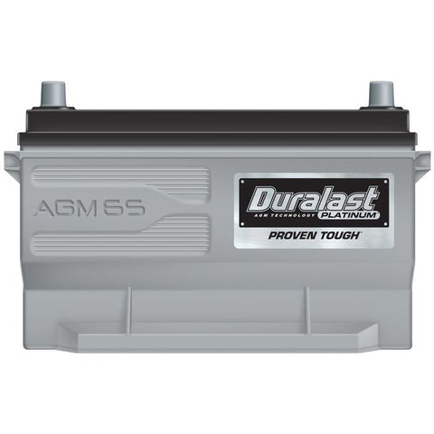65-AGM | Duralast Platinum Battery