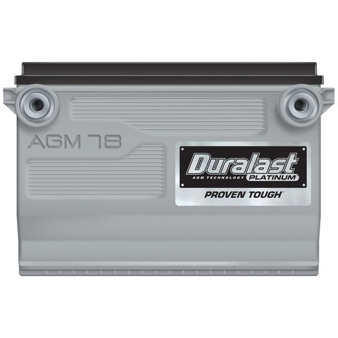 78-AGM | Duralast Platinum Battery
