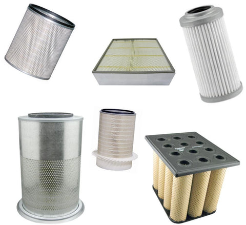 97-04-0795 | Online Filter Supply |  PLEATED SYNTHETIC ELEMENT