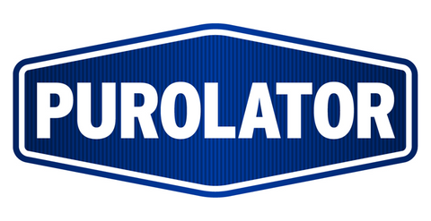 Purolator Blue & White Logo