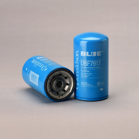 Donaldson Blue DBF7917 Secondary Spin-on Fuel Filter.