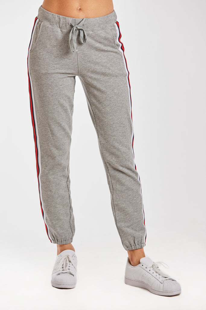 COURTNEY STRIPE SWEATPANT