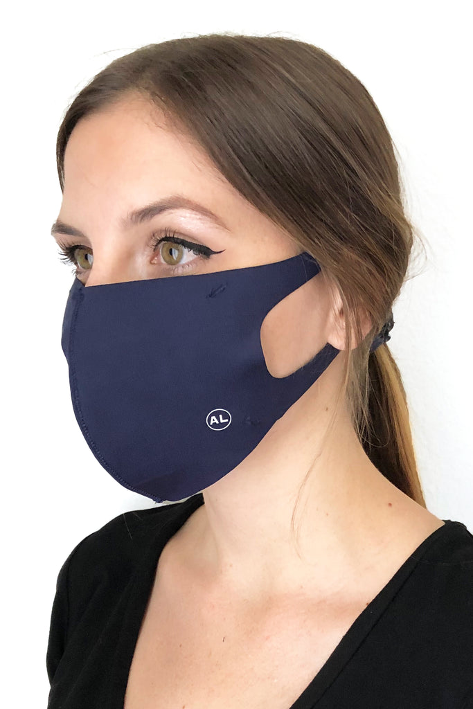 MASK HEATHER NAVY