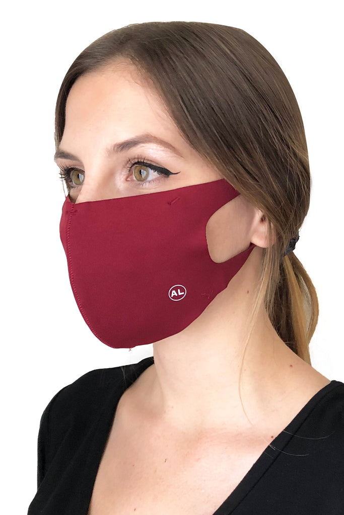 MASK HEATHER BURGUNDY