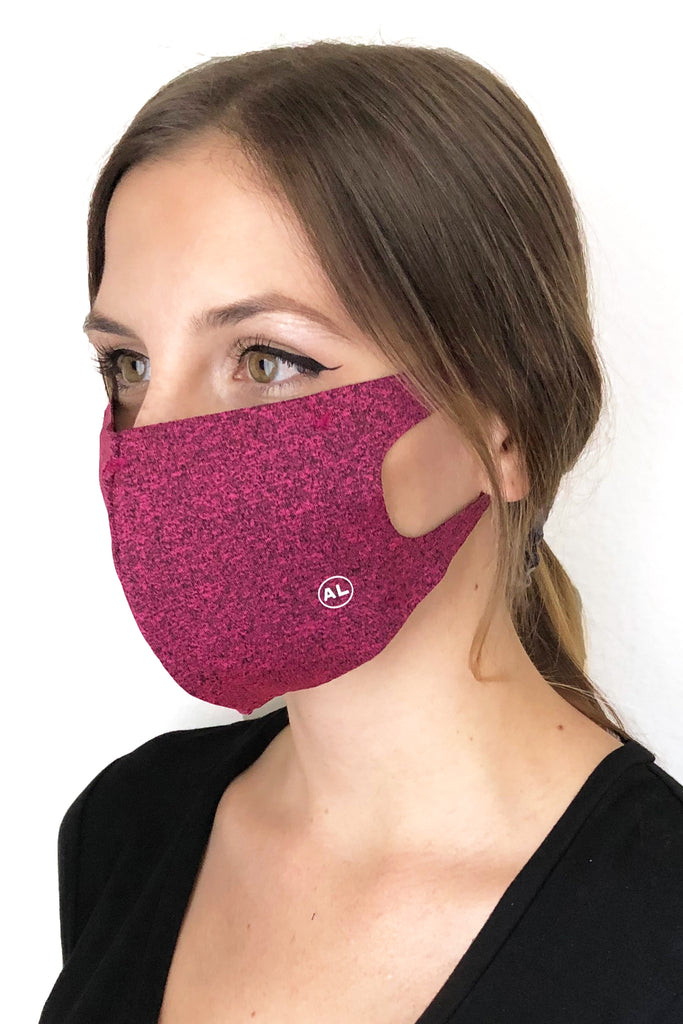 MASK HEATHER MAGENTA