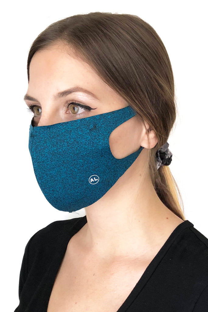 MASK HEATHER TEAL
