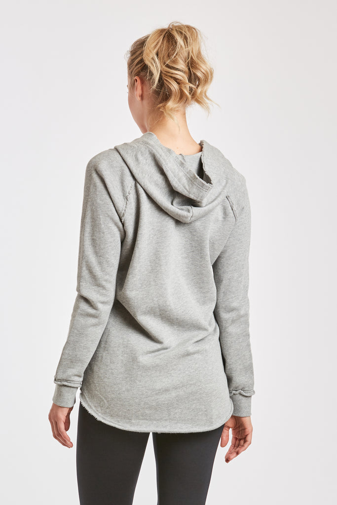 TITUS FRENCH TERRY SWEATSHIRT HEATHER GREY