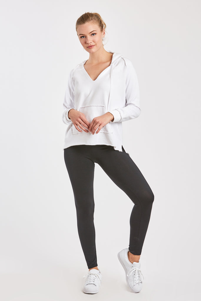CROPPED GINA LEGGING BLACK