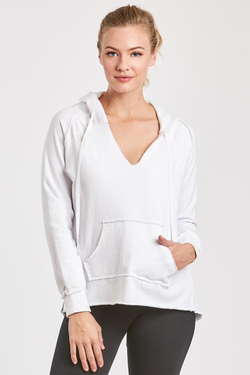 TITUS FRENCH TERRY SWEATSHIRT WHITE