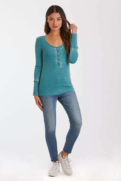 KELLY BURNOUT THERMAL DEEP TURQUOISE