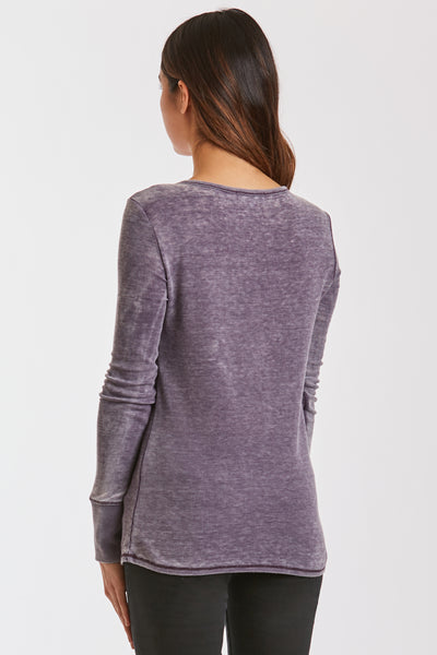 KELLY BURNOUT THERMAL EGGPLANT