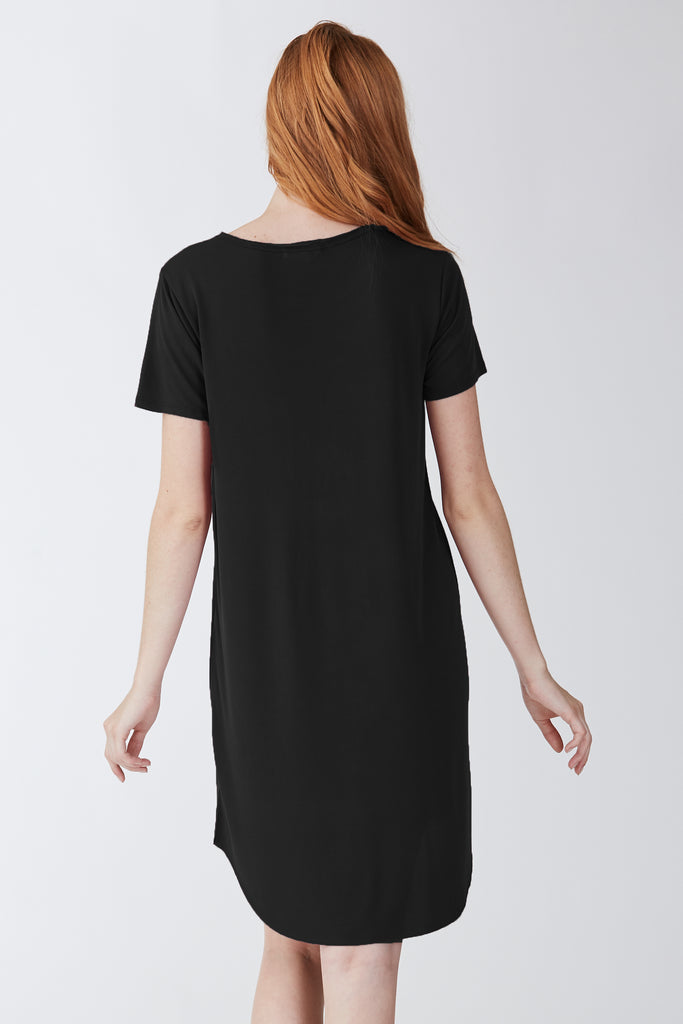 SAMANTHA DRESS BLACK