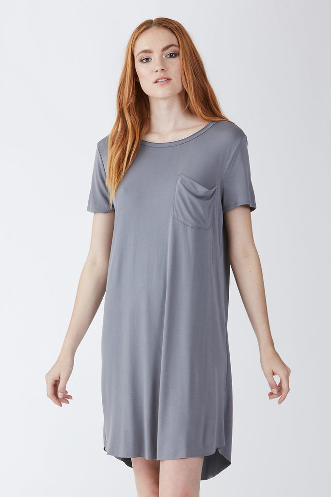 SAMANTHA DRESS GREY