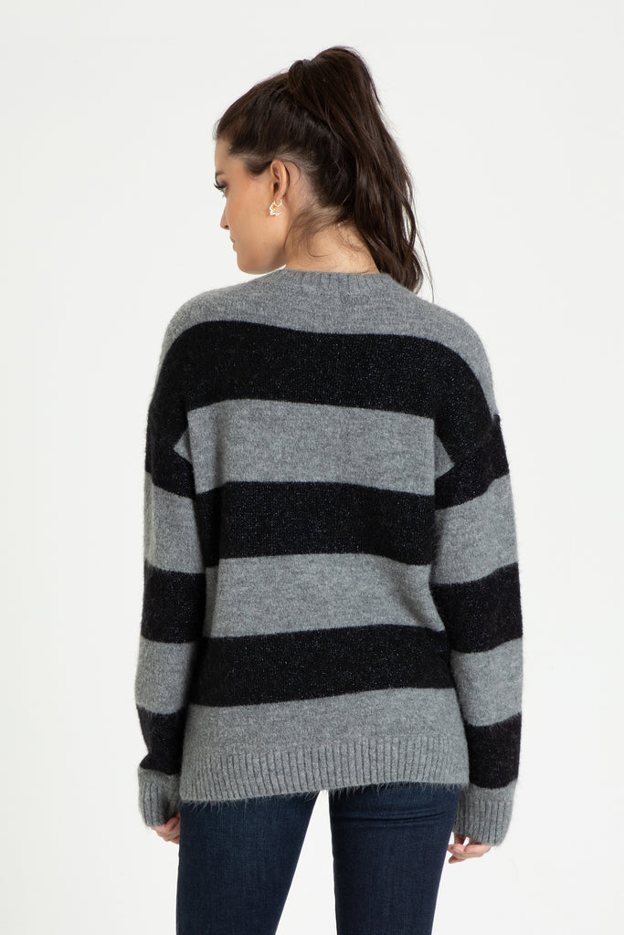 ESME SWEATER IN COSMIC BLACK
