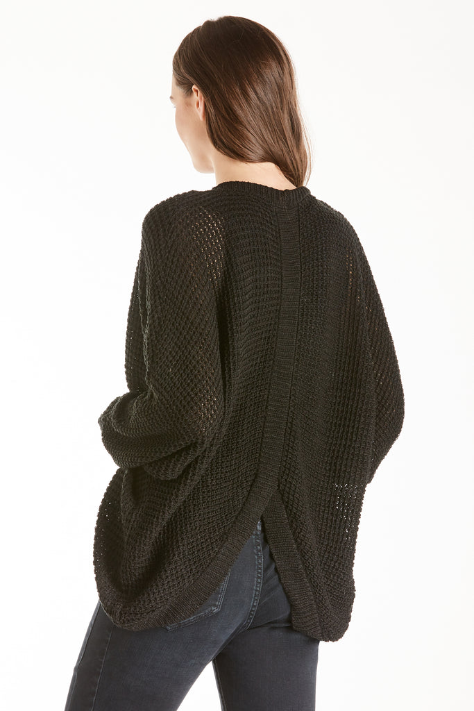 LIZZIE CARDIGAN SWEATER BLACK