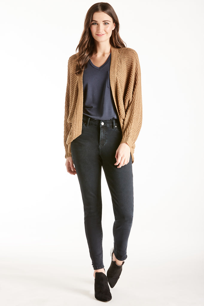 LIZZIE CARDIGAN SWEATER MOCACHINO