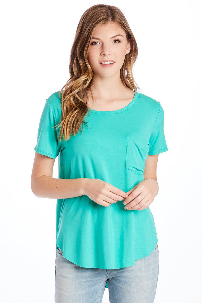 SAM CREW NECK SS TEE SHIRT JADE