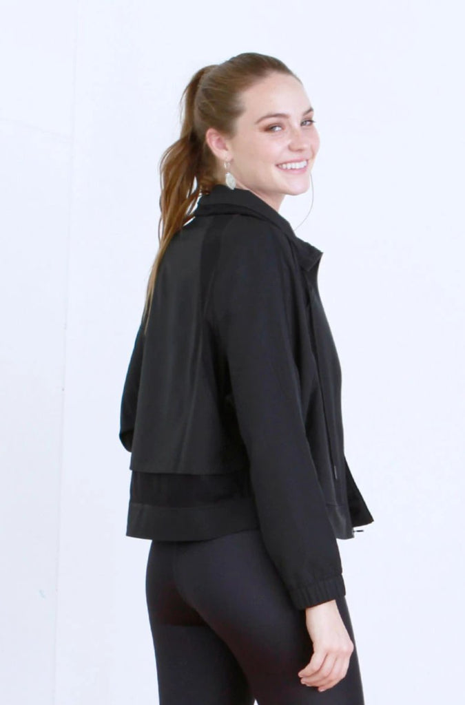 EVE TRACK JACKET BLACK