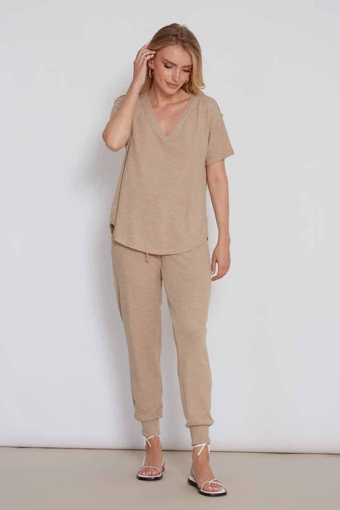 LUCIA HEATHER CAMEL
