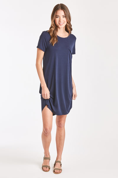 SAMANTHA DRESS NAVY