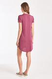 TABATHA LACE DRESS MAGENTA