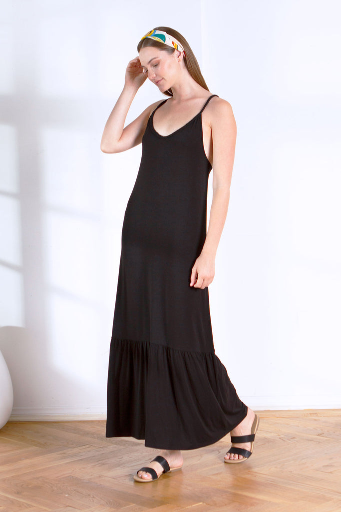 CARMEN MAXI DRESS BLACK