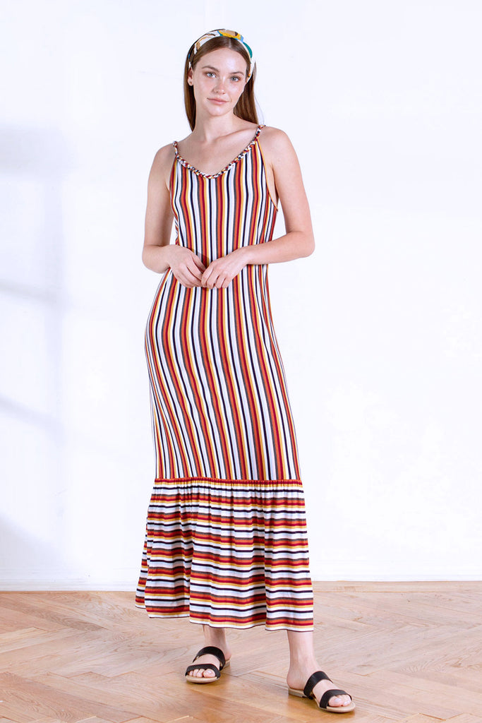 CARMEN MAXI DRESS RETRO