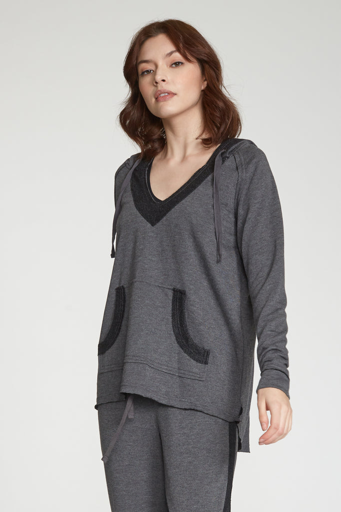 BENSON SWEATSHIRT HEATHER CHARCOAL