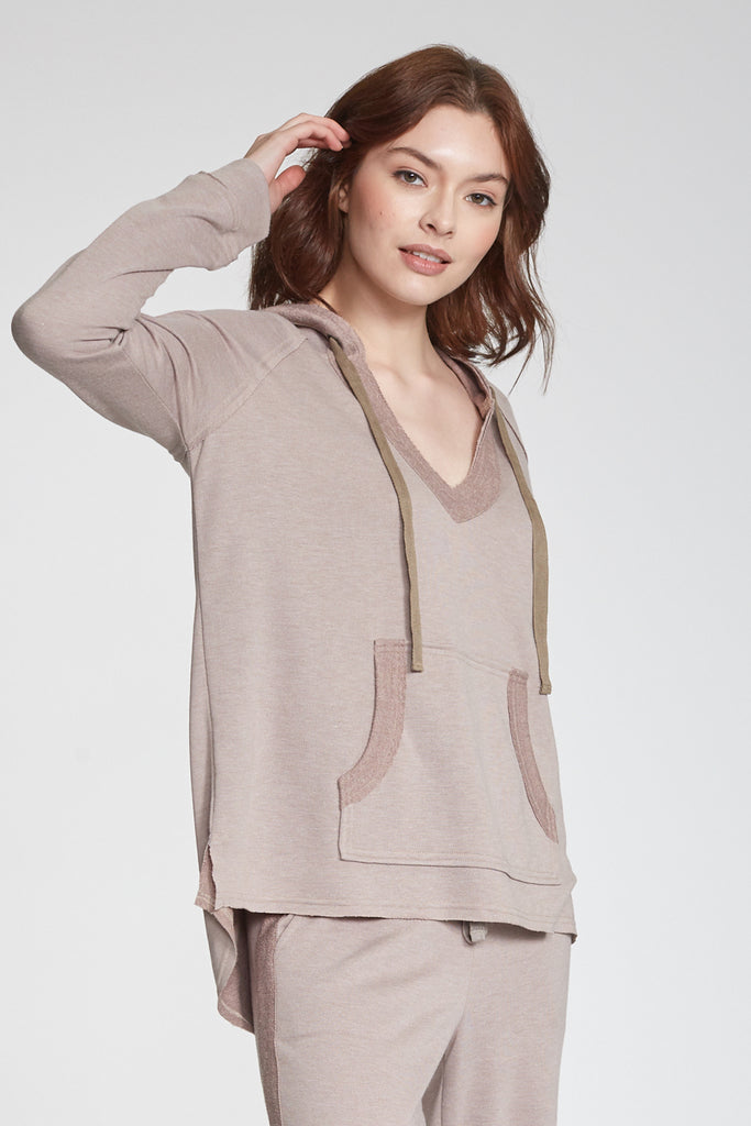BENSON SWEATSHIRT HEATHER TAN