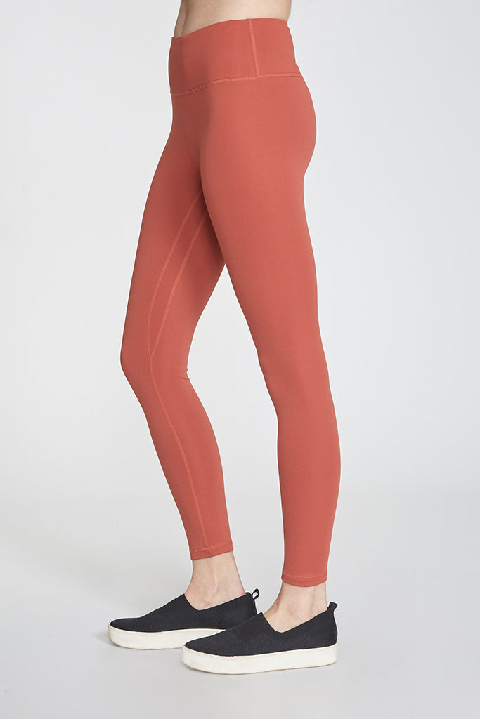 ANDIA SECOND SKIN PERFORMANCE LEGGINGS MAUVE