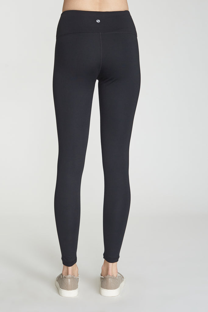 ANDIA SECOND SKIN PERFORMANCE LEGGINGS BLACK