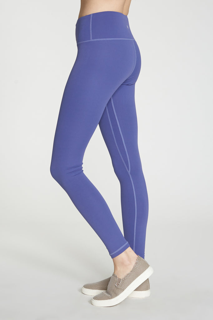 ANDIA SECOND SKIN PERFORMANCE LEGGINGS BLUE PEARL